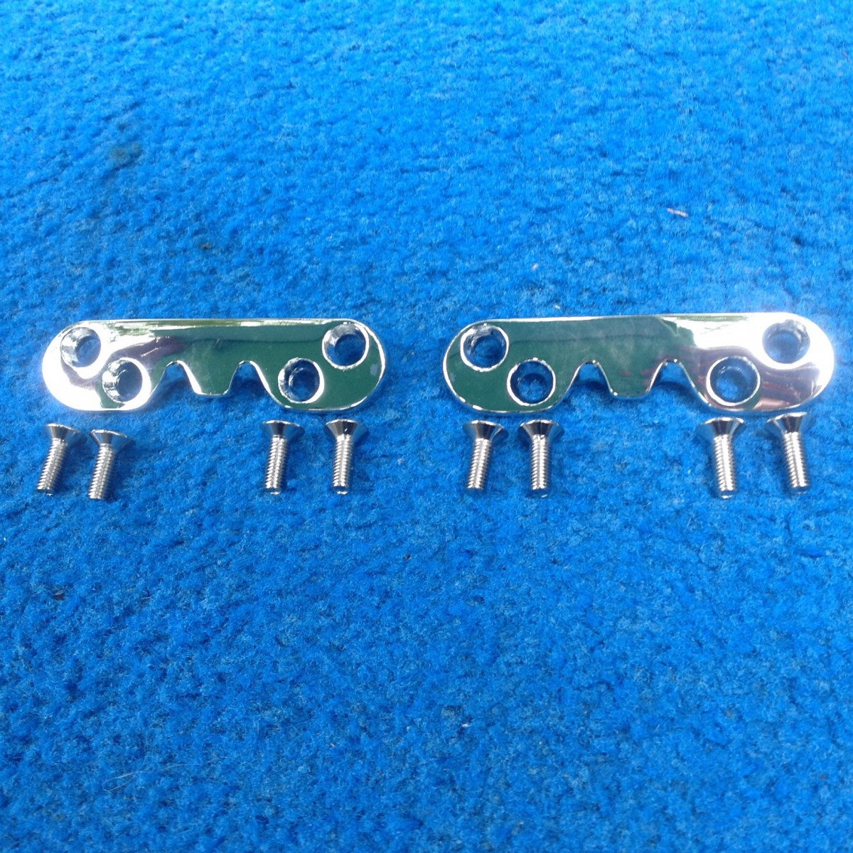 Vw Convertible Top Lock Catches 1961 64 1953 1957 Oval