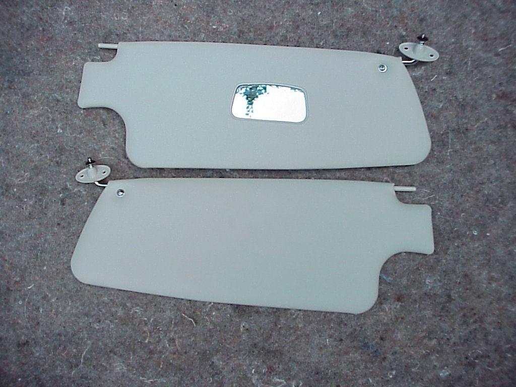 Sun Visors for Bug convertible white 1 pair