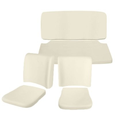 Convertible Bug Front and Rear Foam seat pad Kits