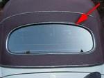 CHUCKS Rear Window Seal CAL LOOK 1963-74 bug convertible