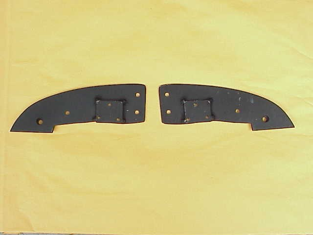 vw convertible1950-64 OR 1965-67 Header Bow Plates