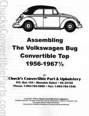 Assembling the Volkswagen Bug Convertible Top 1956-mid 67