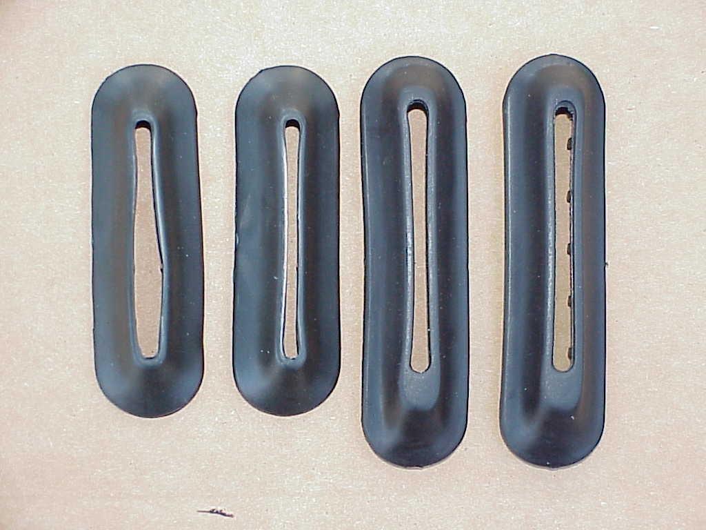 Bumper Bracket Seals 1971-73 super beetle convertibles