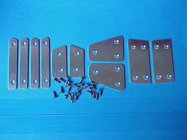 1950-early1960 TOP FRAME END PLATES(BUTT PLATES)