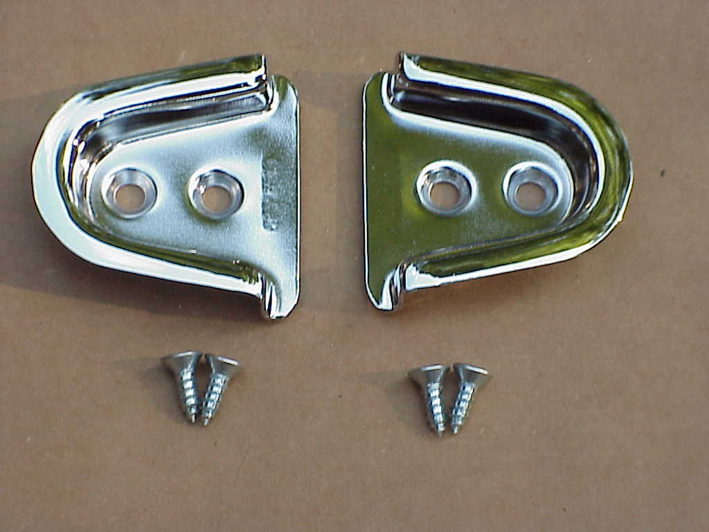 Door Centering Wedge Receptacles 1960-79 bug convertibles and 1960-74 Karmann ghia