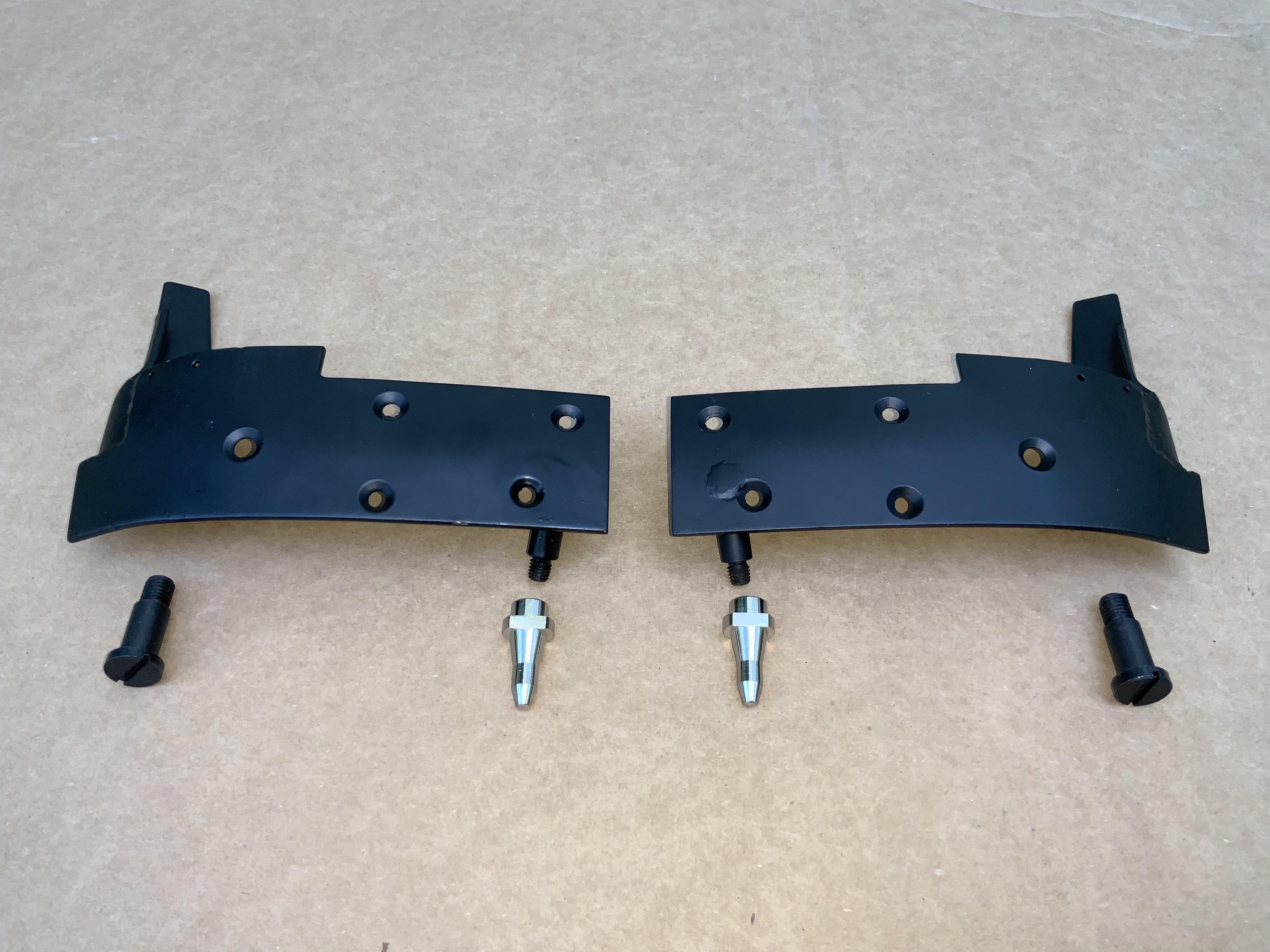 karmann ghia convertible Header Bow Plate Kit 69 1/2 - 74