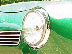 Chrome Headlight Rims ghia 1964-74