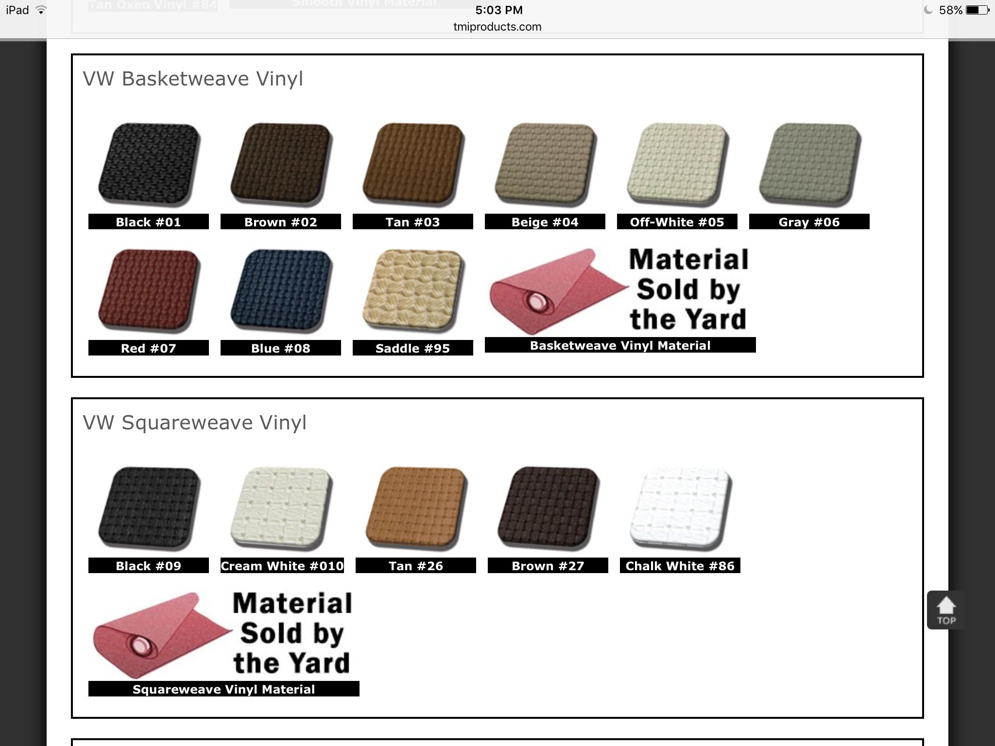Interior Upholstery Kit (74-76) convertible bug.. seat covers,door panels,carpet set