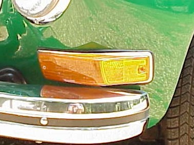 Front Turn Signal lens 70-74 K Ghia currently out of stock