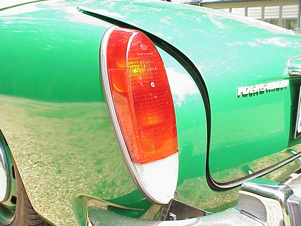 Tail Light Lens 72-74 Karmann Ghia