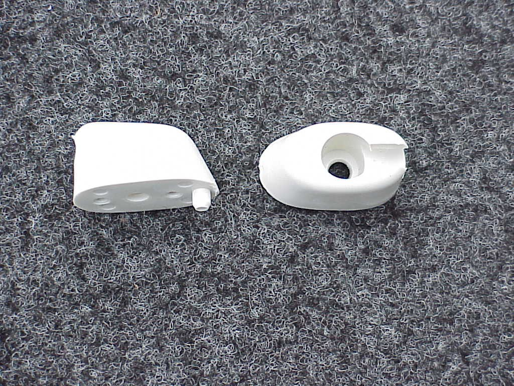Original VW German sunvisor clips 1965-67