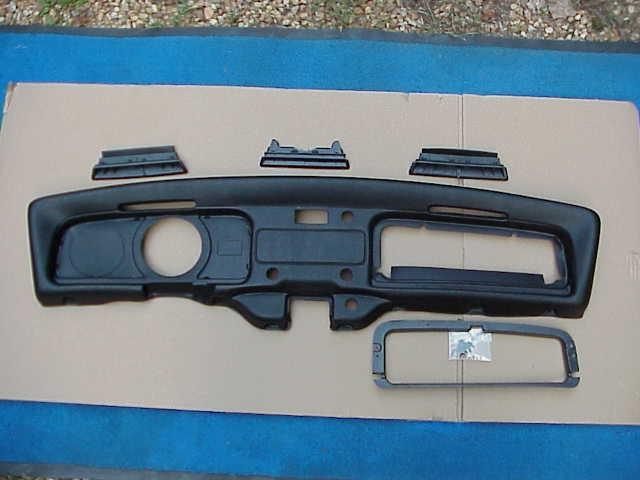 dash pad KIT 1971-72 Super Beetle Convertible