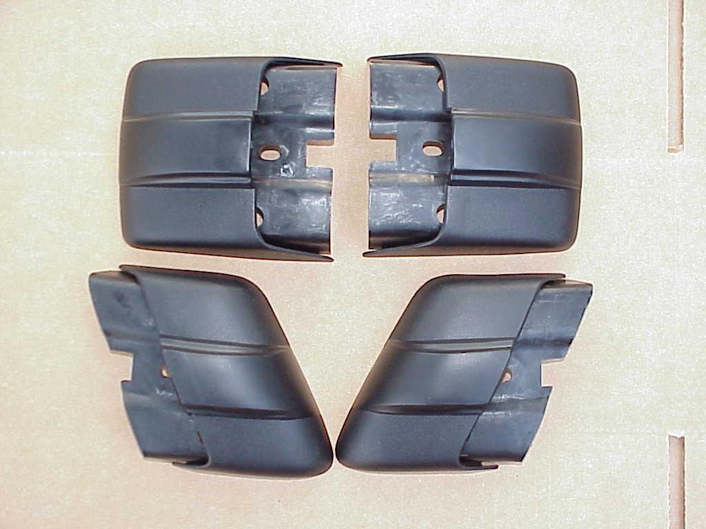 1974-79 SUPER CONVERTIBLE Plastic Bumper End Caps THAT FIT!