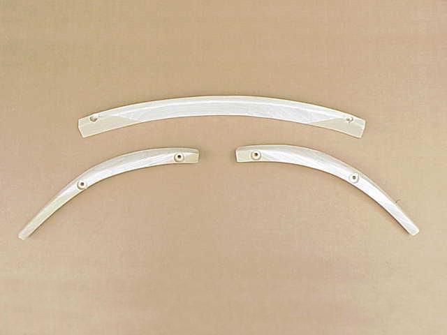 Rear SOLID WOOD 3-Piece Body Tack Strip 67 1/2 -71 bug convertible