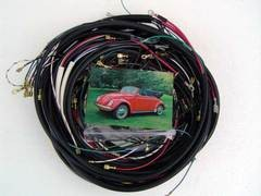 Complete Wiring Harness 1972-early73 Ghia convertible