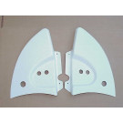 HINGE COVERS PLASTIC 1968-79 bug convertible one pair