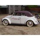 Deluxe Convertible Top Kit 1960-early 67 beetle convertible WITH CANVAS TOP