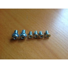 Top Lock Assembly Mounting Screws 1969 1/2-74 Karmann Ghia Convertible
