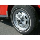 Black Plastic Hubcap and Lug Nut Covers 1974-79 sport wheels