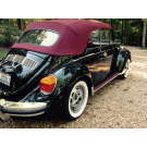 Deluxe Convertible Top Kit 1973-79 super beetle with CANVAS TOP