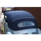 Deluxe Convertible Top Kit  1953- 57 OVAL WINDOW beetle convertible WITH CANVAS TOP