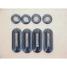 Bumper Bracket Seals 1953-67 bug convertibles