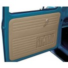 Front & Rear Door Panels 1970-72 BUG CONVERTIBLE