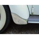 GERMAN Front Fender Gravel Guards 1950-70 BUG CONVERTIBLE