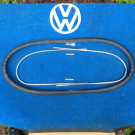 Rear Window Seal OEM and metal trim 1953-57 bug convertible