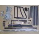 THE HIGHEST QUALITY Door & Window rubber Kit (65-72)