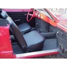 Front & Rear Seat Covers 1969 1/2 -74 Karmann ghia Convertible