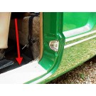 Door Sill Plates 1960-74 Karmann Ghia Convertible