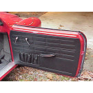 Front Door Panels 67-74 karmann ghia convertibles