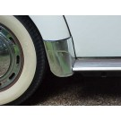GERMAN Rear Fender Gravel Guards 1953-79 bug and super convertible