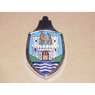 Wolfsburg Crest Hood Emblem with Base